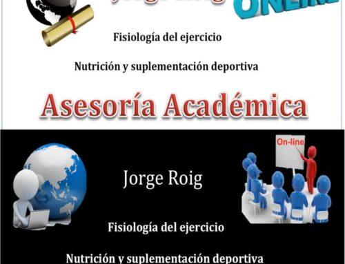 ASESORÍA CIENTÍFICA EN CIENCIAS DEL EJERCICIO